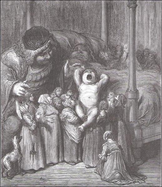 Comment s'appelle la mère de Gargantua ?