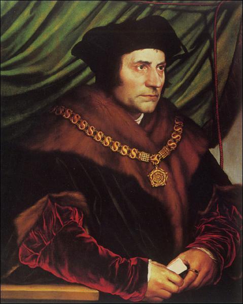 Que n'est-il jamais arrivé à l'anglais Thomas More ?