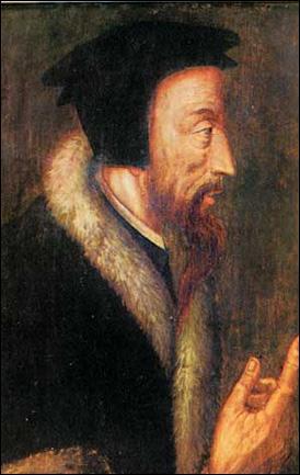 Le français Jean Calvin est le chef du 'calvinisme', qui est une branche du ...