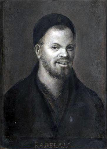 Voici le portrait qu'on trouve généralement dans les dictionnaires pour illustrer l'article sur Rabelais. Ce portrait est-il vraiment celui de l'auteur ?