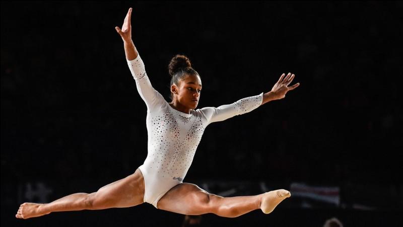 Quel est le nom de cette gymnaste ?