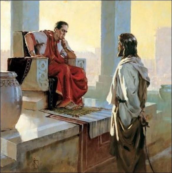Qui est ce préfet romain condamnant malgré lui Jésus, poussé par la foule en délire ?