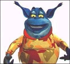 Comment s'appelait le gentil monstre, ami de Lagaf, dans 'Le Bigdil' ?