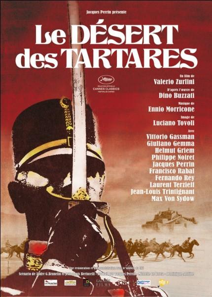 """Dino Buzatti a écrit """"Le Désert des Tartares""""."""