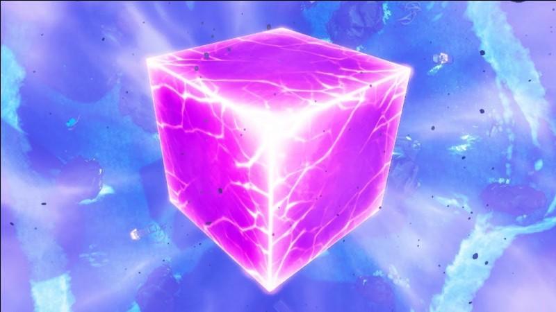 Quand le cube était sur l'île, quel était son effet sur nous quand nous étions à proximité ?