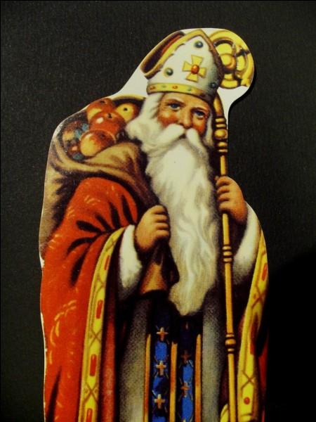 Saint-Nicolas passe dans la nuit du 9 au 10 décembre.