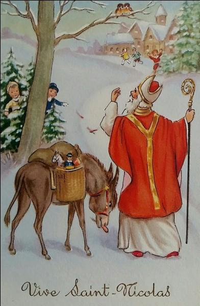 Et où retrouve-t-on ce qu'apporte Saint-Nicolas ?