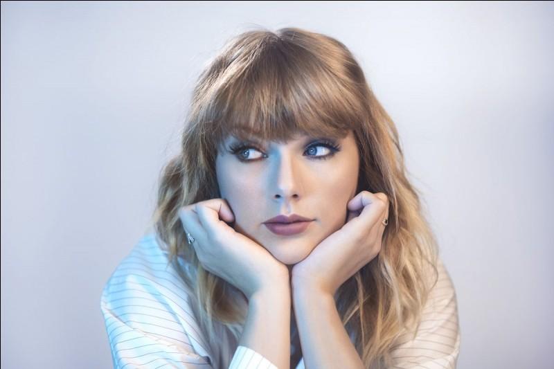 Quel titre a chanté Taylor Swift ?