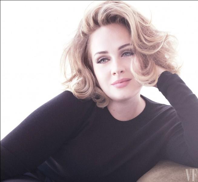 Quel titre a chanté Adele ?