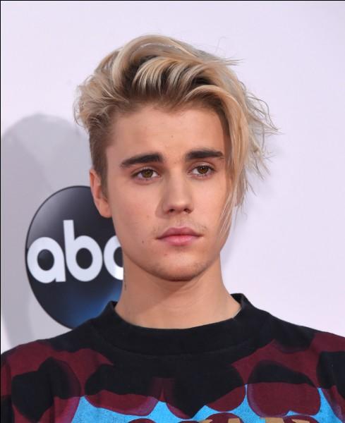 Quel titre a chanté Justin Bieber ?