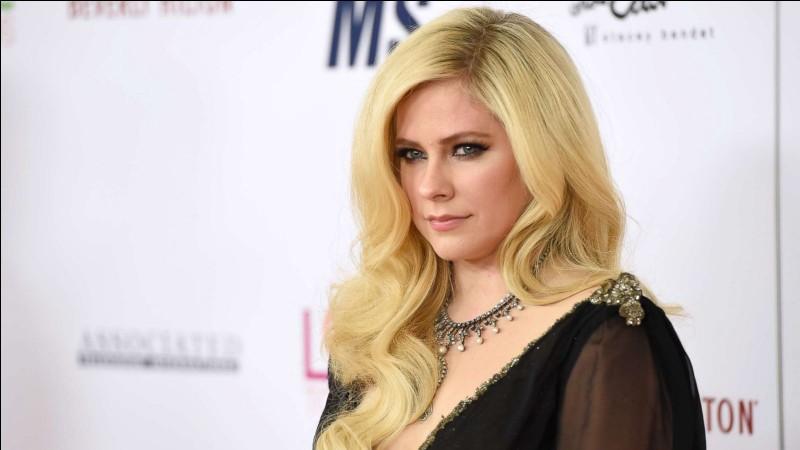 Quel titre a chanté Avril Lavigne ?