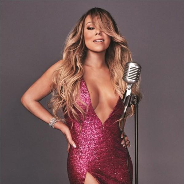 Quel titre a chanté Mariah Carey ?