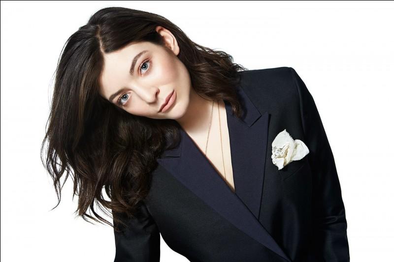 Quel titre a chanté Lorde ?