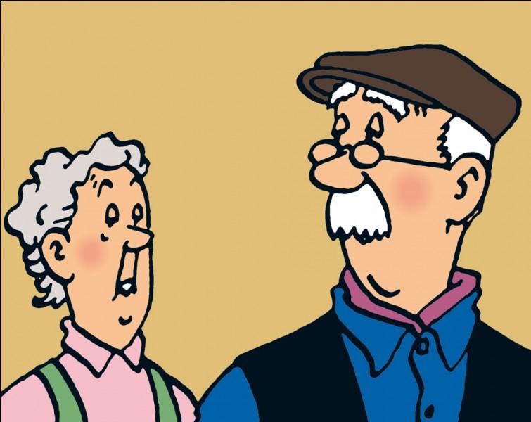 Les femmes sont rares dans les albums de Tintin ! Qui est celle-ci ?