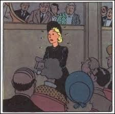 """Rare personnage féminin qui intervient dans """"Les 7 Boules de Cristal"""", c'est Madame..."""