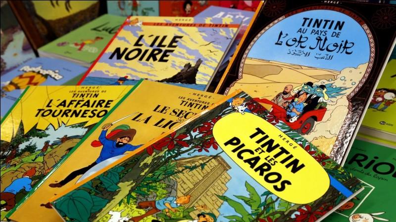 Quel album de Tintin n'existe pas ?