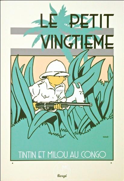 """Tintin apparaît pour la première fois dans le """"Petit vingtième"""", supplément jeunesse d'un journal belge, lequel ?"""