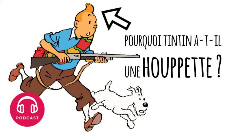 Il y a longtemps, Tintin n'avait pas de houppette sur la tête. Depuis quand l'a-t-il attrapée et à quelle occasion ?