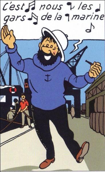 Dans quel album a-t-il fait la connaissance du capitaine Haddock ?
