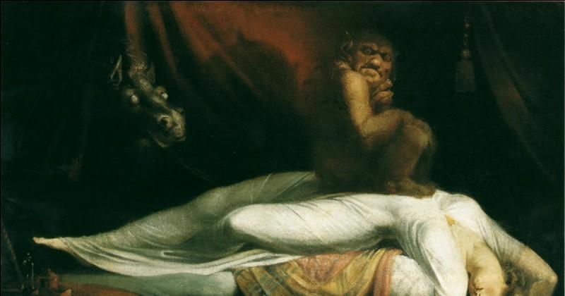 Quel démon mâle prend corps pour abuser sexuellement des femmes endormies ?