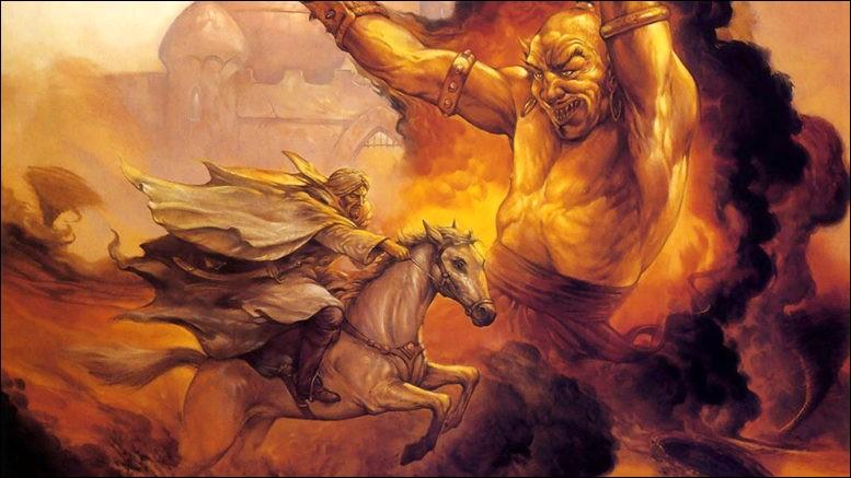 Quels démons, tirés des croyances du Moyen-Orient et du Maghreb, peuvent prendre différentes formes et contrôler le genre humain ?