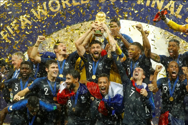 Quelle équipe la France a-t-elle battue en finale de la Coupe du monde de football en juillet 2018 ?