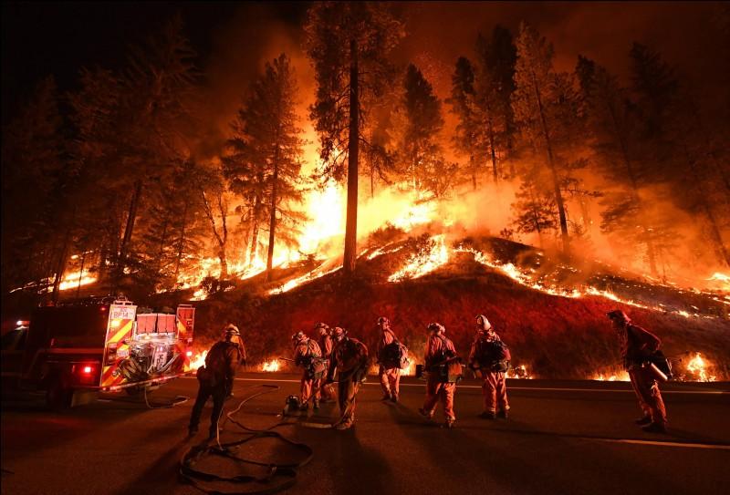 Quel nom a été donné à l'incendie qui a débuté le 8 novembre 2018 en Californie ?