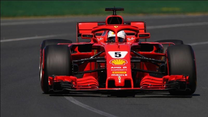 Quelle est cette Formule 1 ?