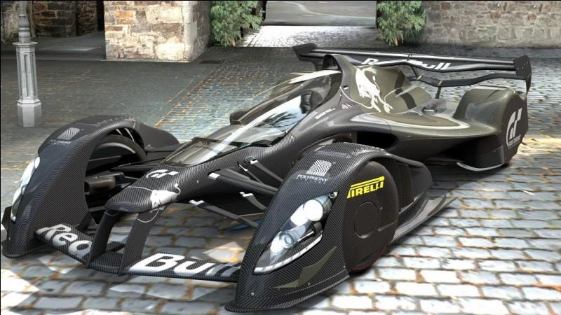 Comment s'appelle cette F1 futuriste fictive que l'on peut voir dans le jeu ''Gran Turismo 5'' ?