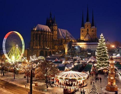 Les plus belles villes du monde à Noël