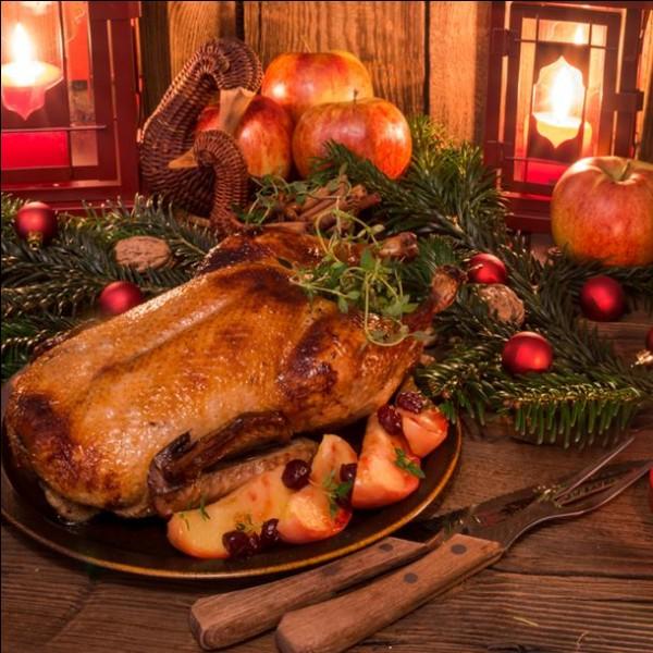 Quel est le plat de Noël traditionnel en Angleterre ?