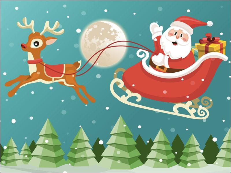 Comment appelle-t-on le père Noël en anglais ?