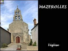 Mazerolles est un village de Nouvelle-Aquitaine situé dans le département ...
