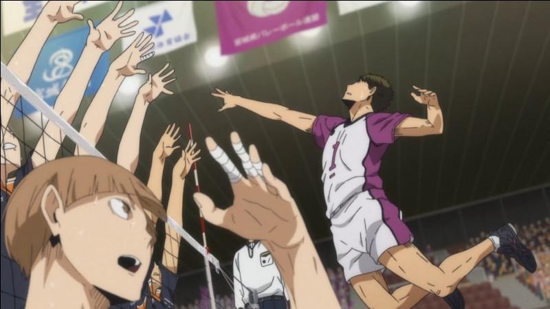 """C'est la finale entre """"Shiratorizawa"""" et ton équipe."""