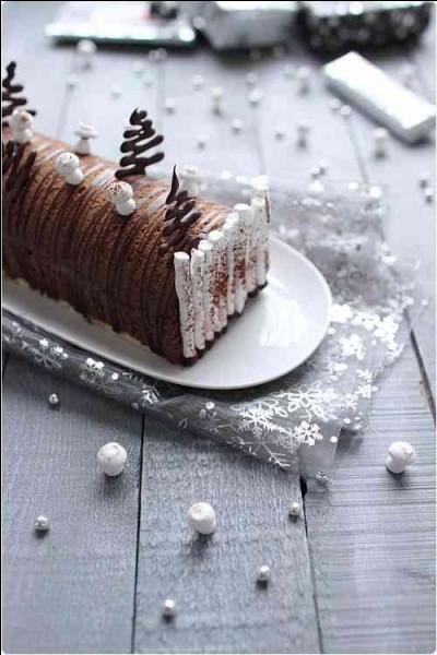 Quel est ce dessert traditionnel de Noël ?