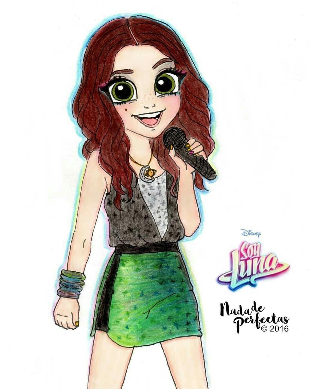 Soy Luna - dessins des filles