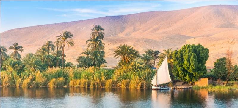 « Le Nil me traverse. »