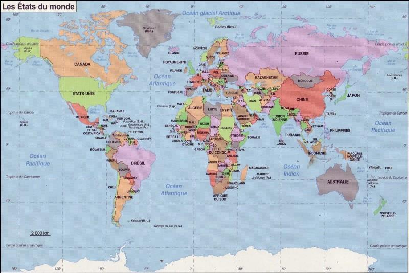 « Je suis le plus grand pays du monde. »