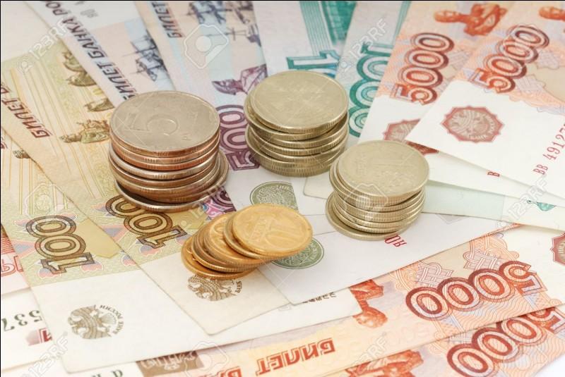 Sa monnaie est le rouble.