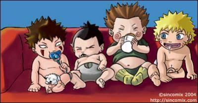 Qui sont ces bébés? (en partant de la gauche)