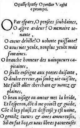 La littérature française - Les poètes de la Renaissance