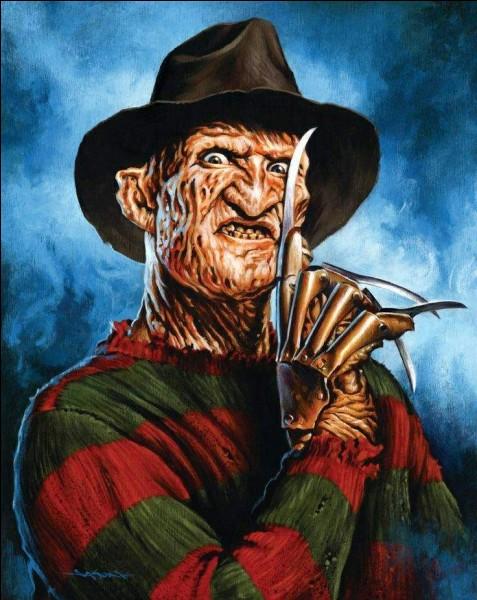 Dans quel film d'horreur retrouve-t-on Freddy Krueger ?