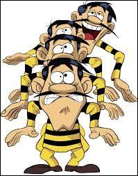 Qui est le plus grand, en taille, des frères Dalton ?