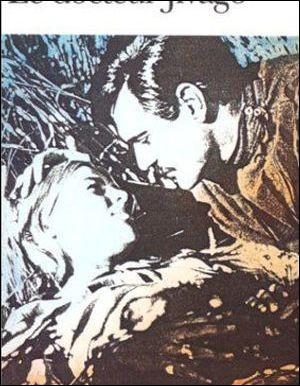 Dans la chanson d'un film de David Lean, où Omar Sharif et Julie Christie se partagent l'affiche, comment était couvert le ciel ?