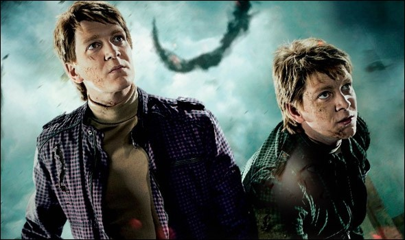 Comment s'appellent les jumeaux Weasley ?