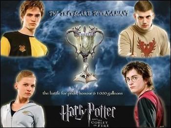 À quelle compétition participe Harry dans le tome 4 ?