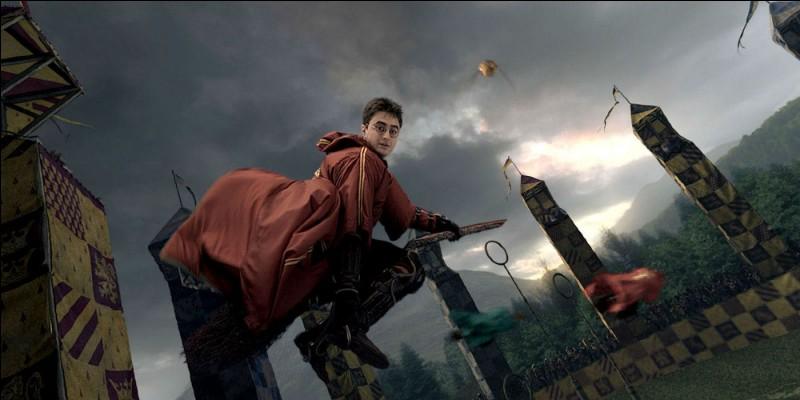 Dans quel tome Harry intègre-t-il l'équipe de quidditch de Griffondor ?