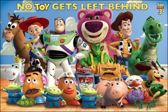 """Dans quel """"Toy Story"""", Woody (le cow-boy) rencontre-t-il Jessie (la cow-girl) ?"""