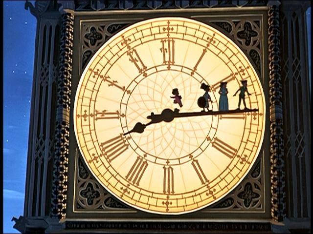 Qui jouent aux équilibristes sur la grande aiguille dans ce long métrage d'animation ?