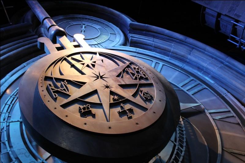 Dans quel film voit-on cette horloge colossale pour la première fois ?